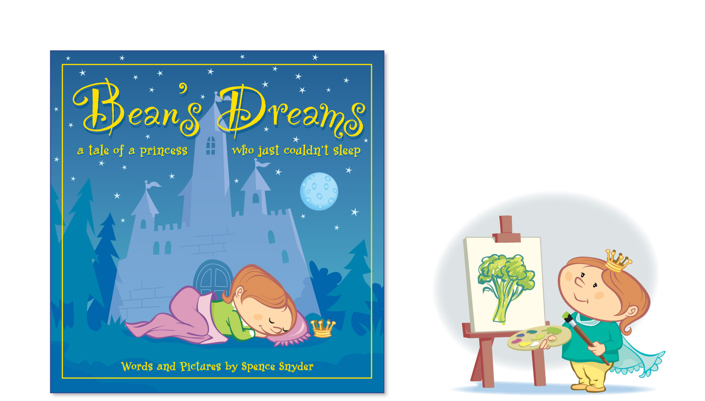 """Bean's Dreams"" children's book illustrations"