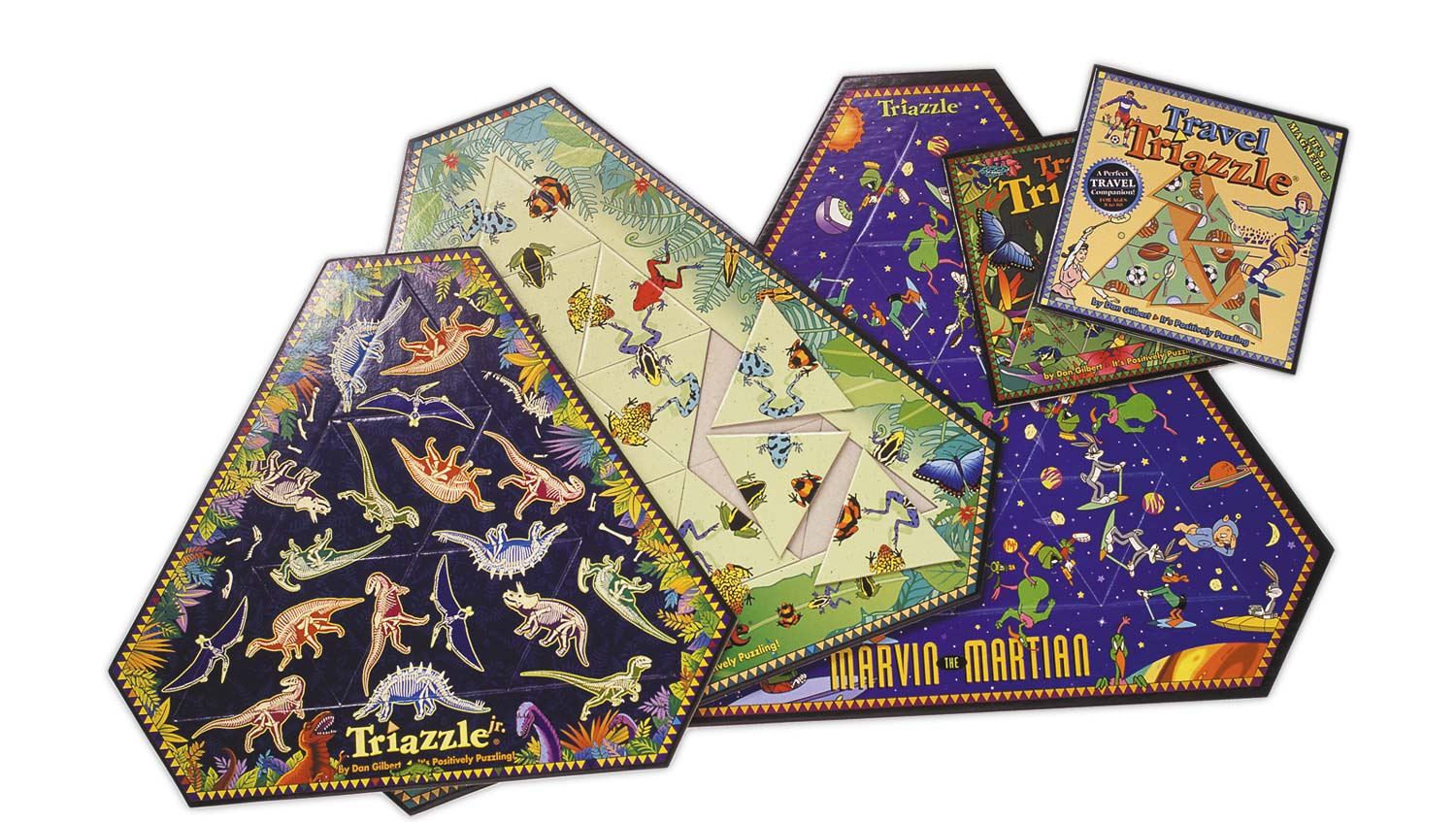 Triazzle puzzles for Dan Gilbert Inc. and The DaMert Company