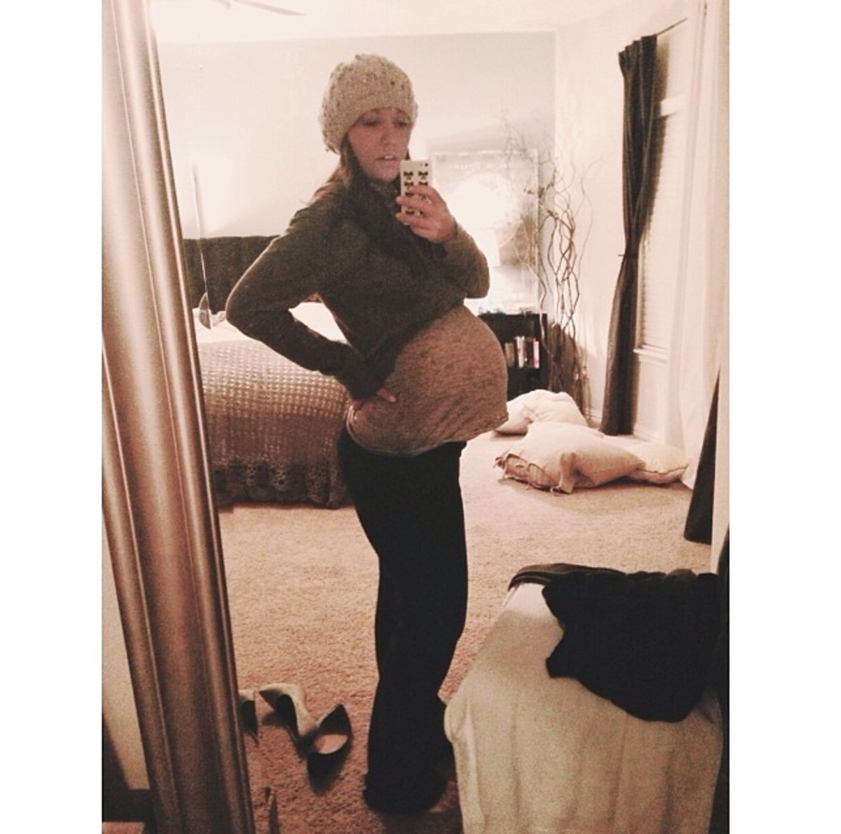 Pregnant with Hudson!!!