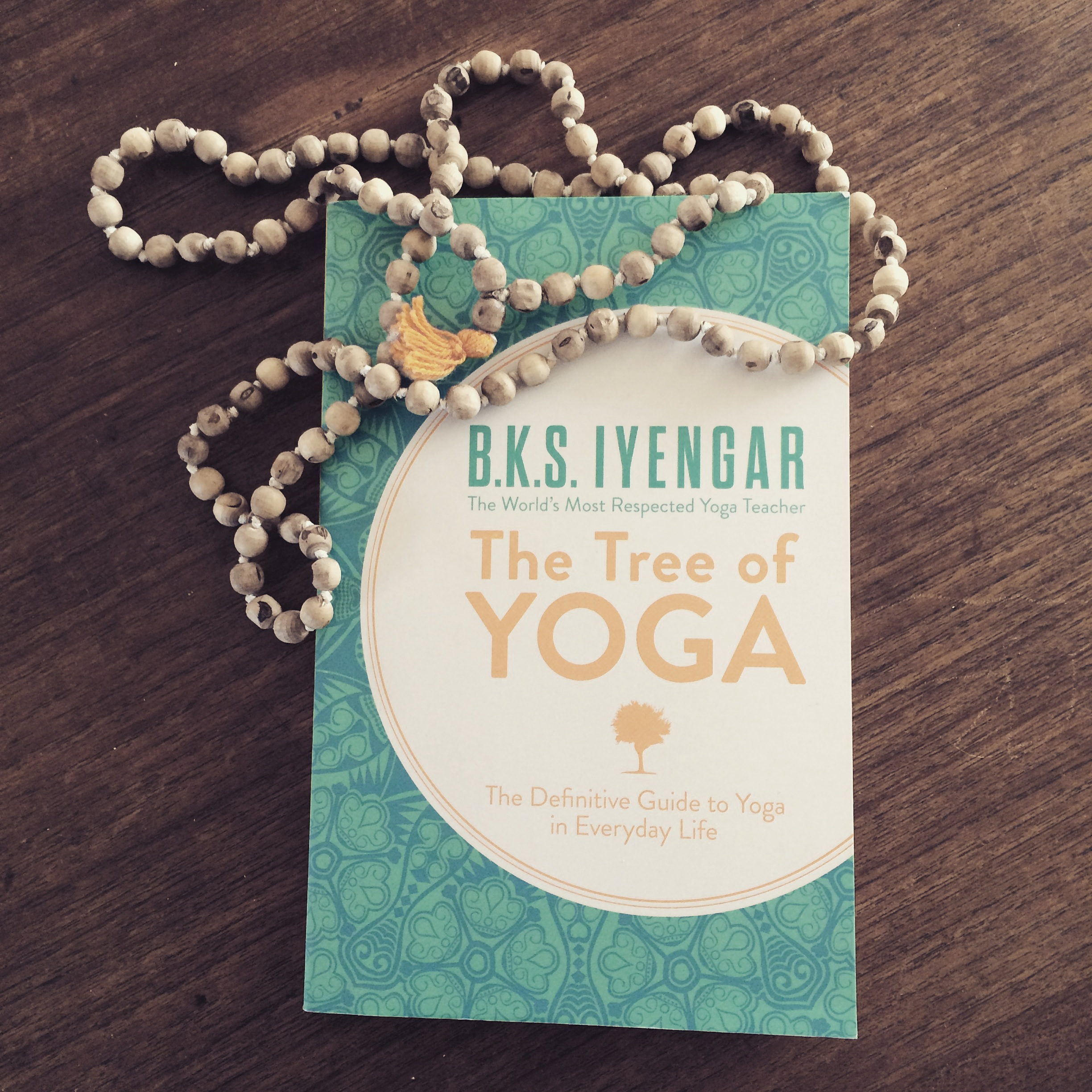 Mala beads + a solid read