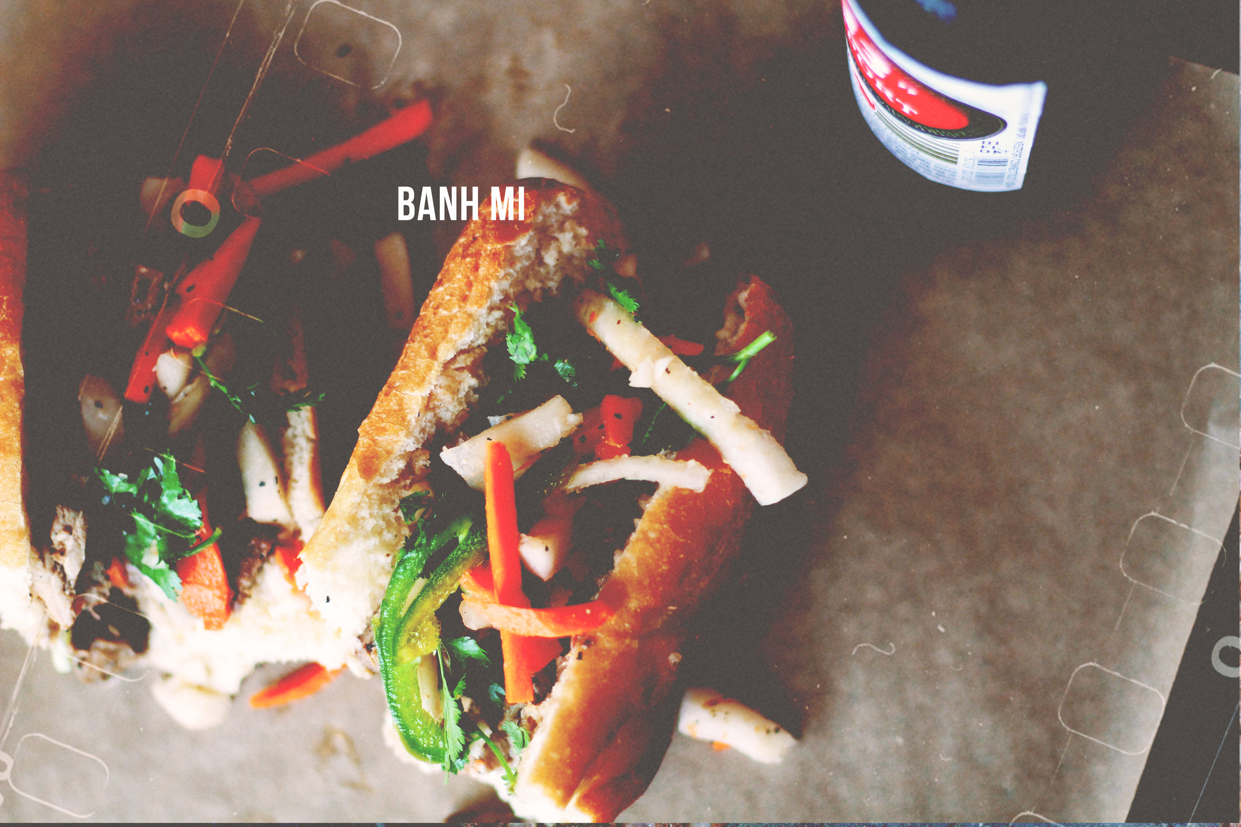 banh mi & beers, yes please.