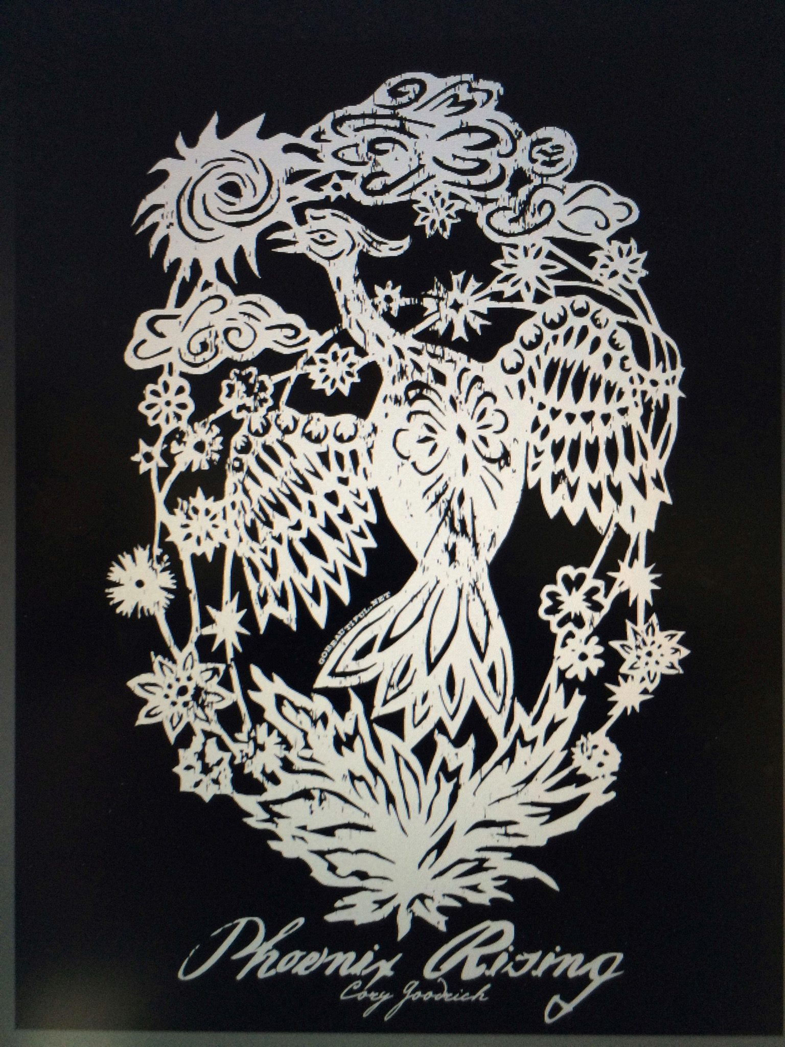 The artwork of my fabulous sister, Karen Sue (Goodrich) Groll