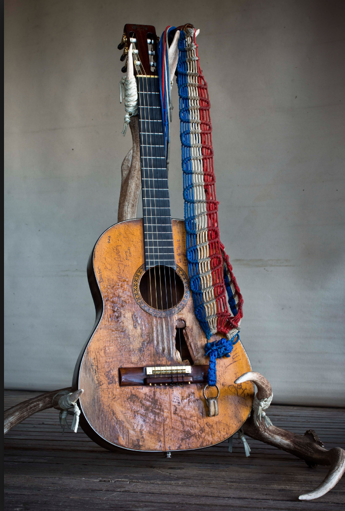 This is Trigger. Willie' Nelson's guitar. But I'm not talking about that kind of trigger. Image from www.stringjoy.com.
