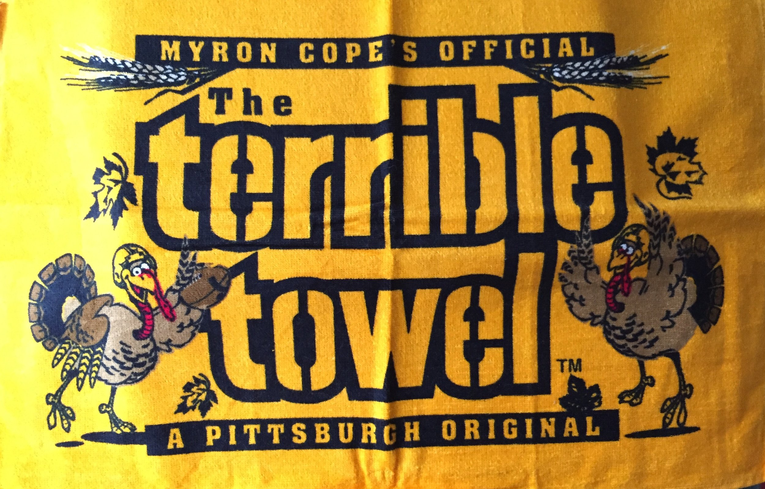 Yes, there is a Terrible Towel for every major holiday. No, I don't have all of them yet.