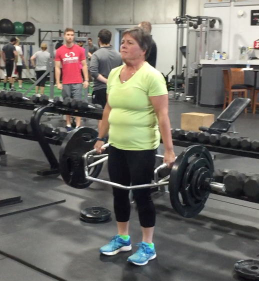 What have you gained? Wendy gained a 200lb deadlift.