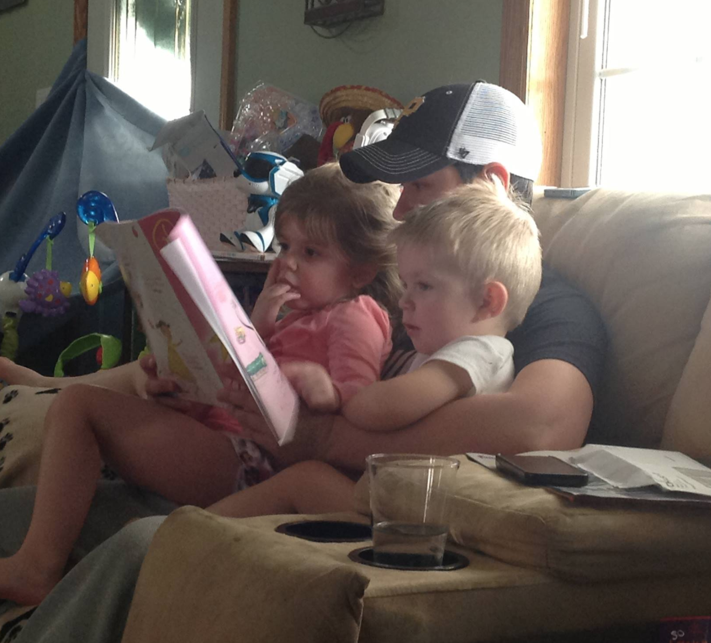 Having the chance to read to my niece and nephew is pretty important. Even if they're not so small anymore...