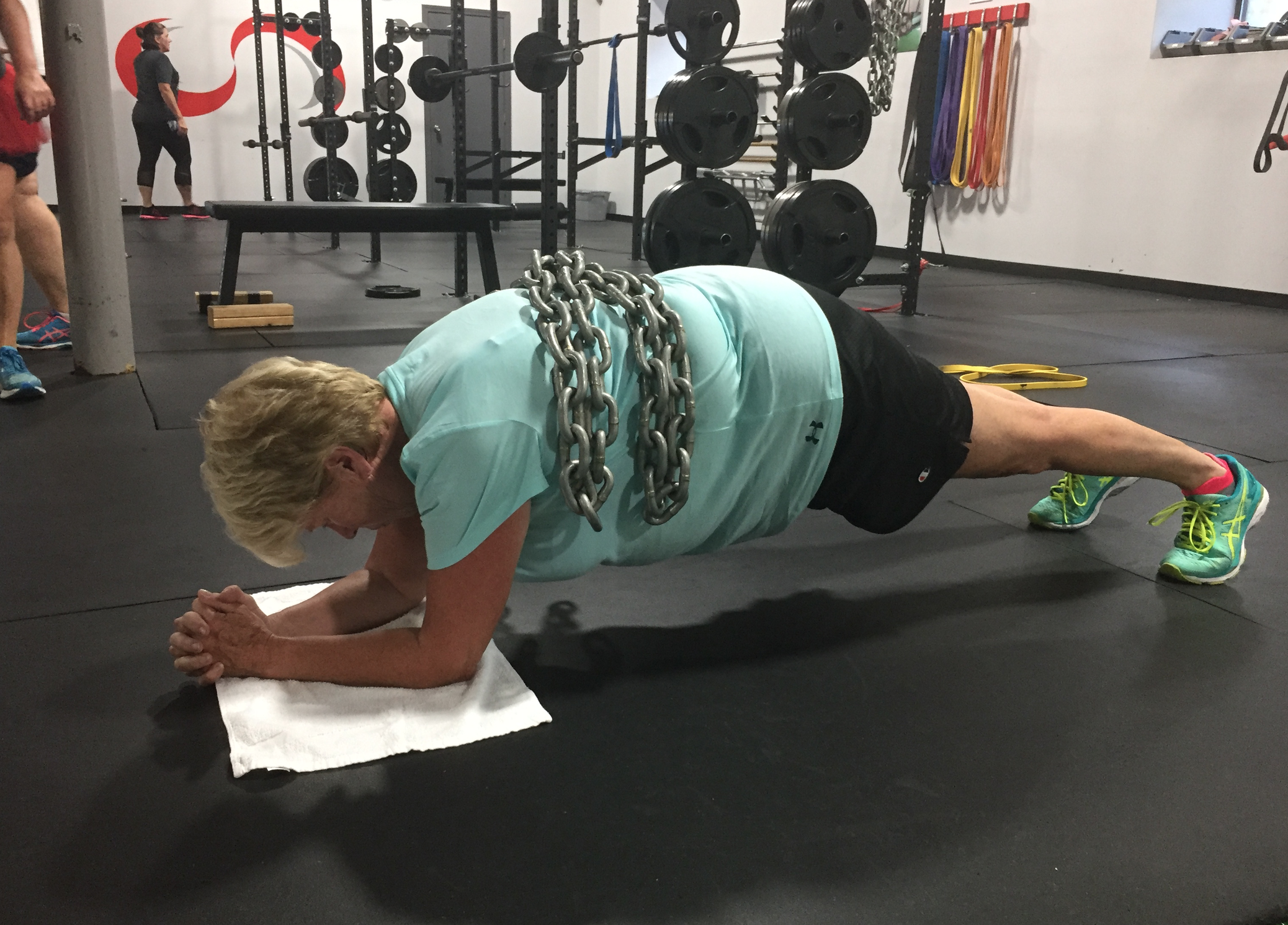 I want to be like Donna, and Eileen and Kathy and so many of my other clients who are working out and training hard, and smart, into their 60's and beyond.