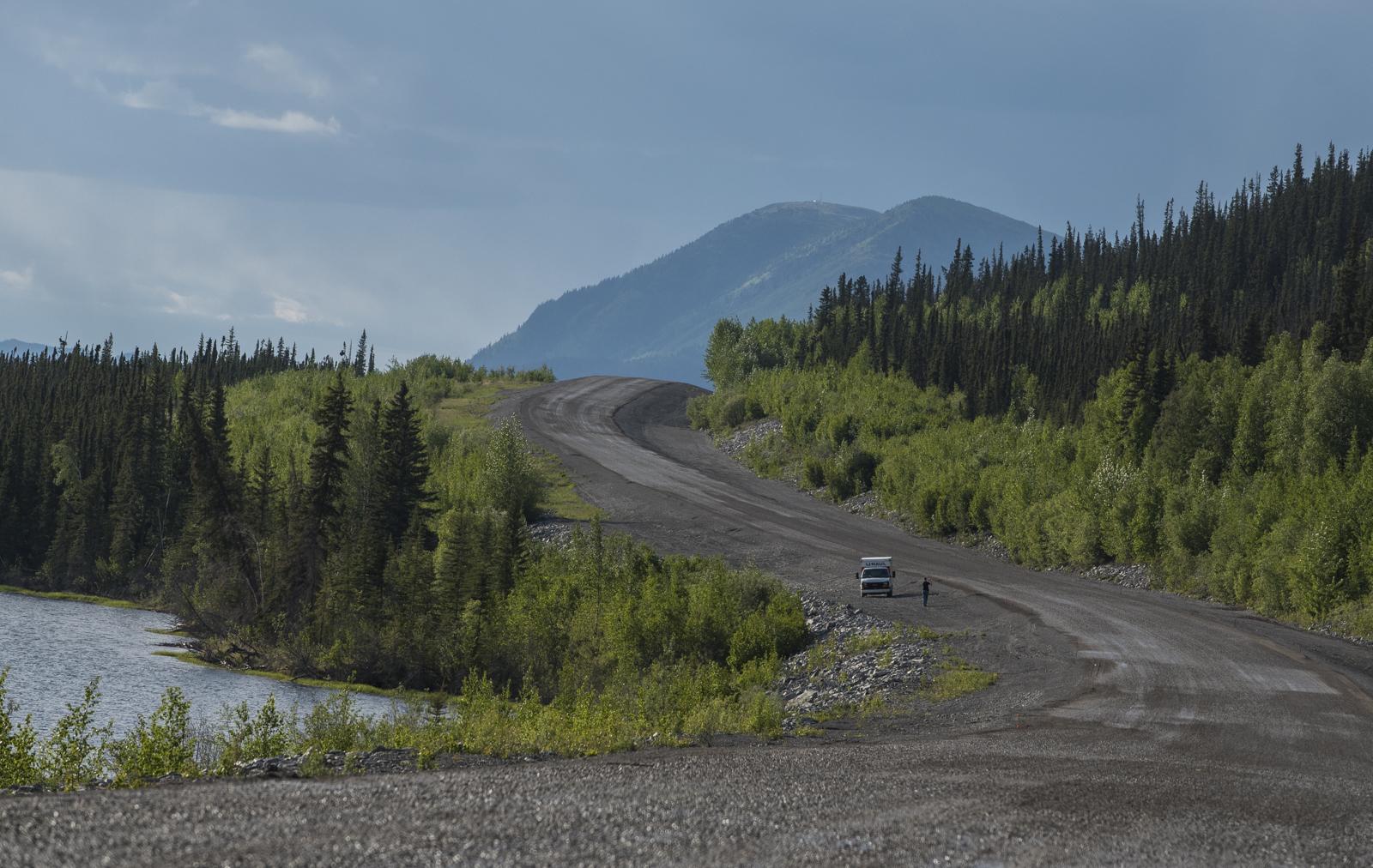 The Alaskan Highway.