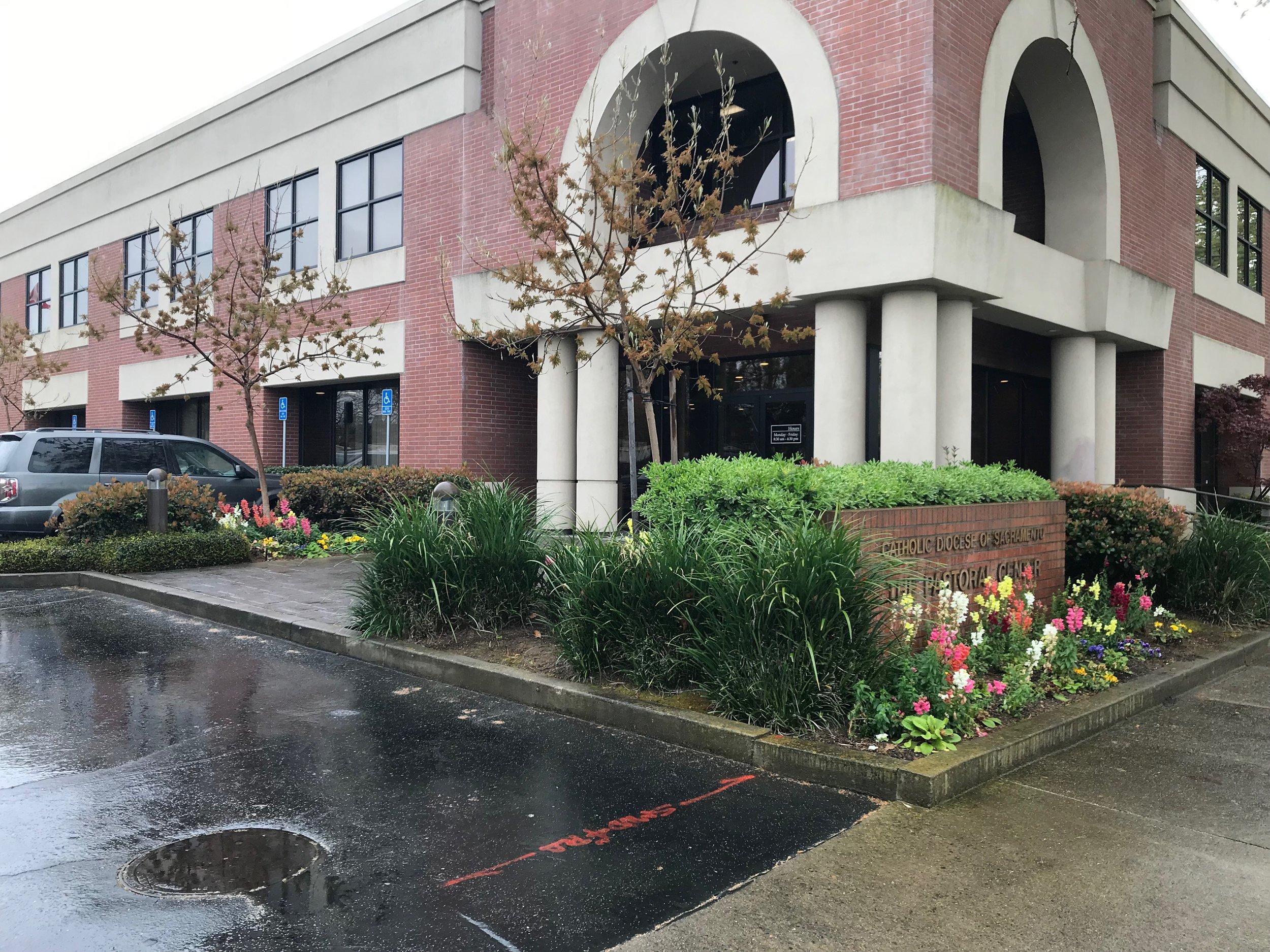 Sacramento Diocese Pastoral Center, Sacramento