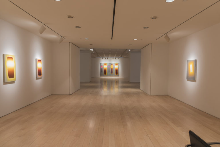 Gerard Mossé at Marlborough Gallery, installation view, courtesy of the gallery