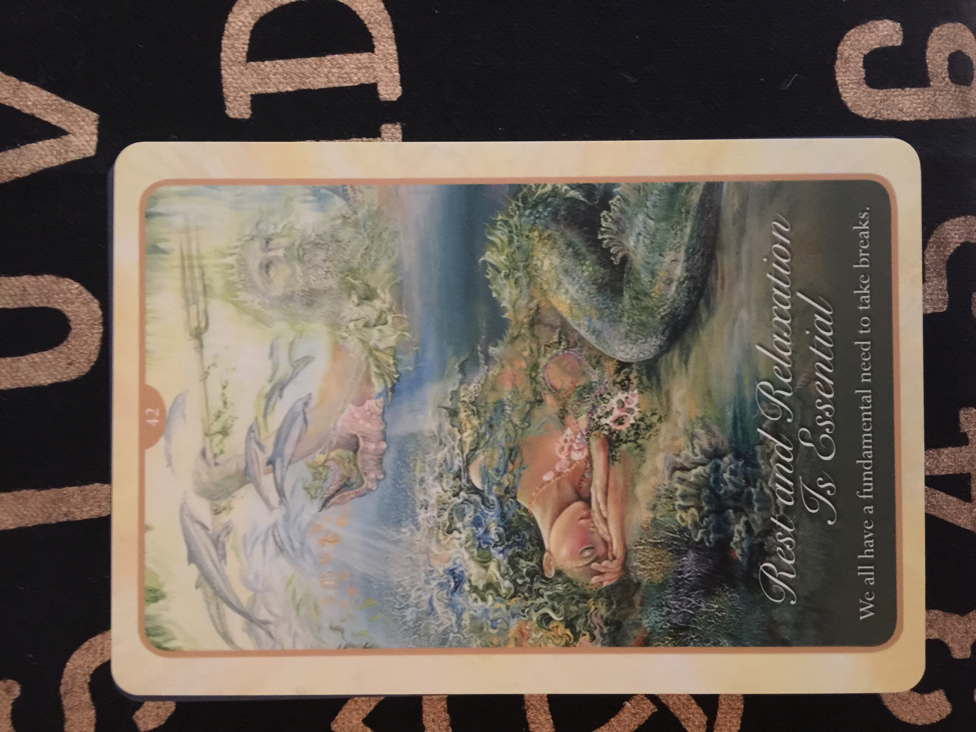 Deck used: Whispers of Love Oracle Cards
