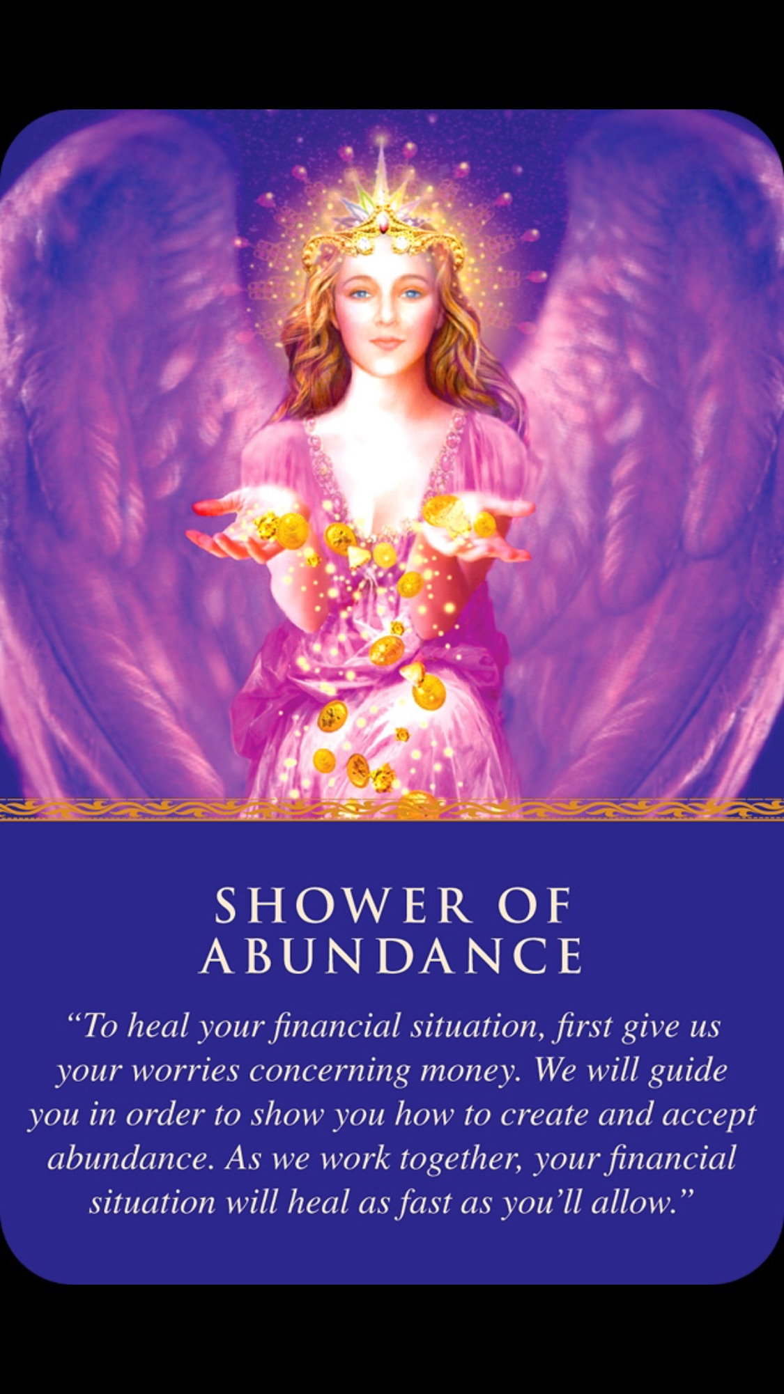 Deck used: Daily Guidance from Your Angels