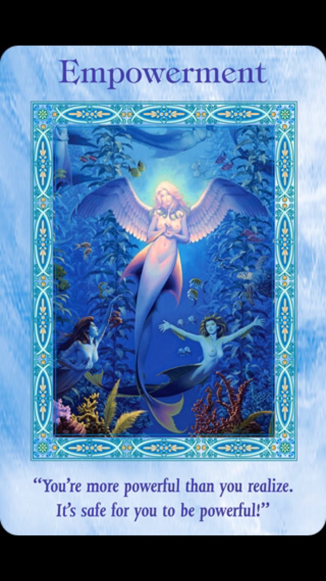 Deck Used: Magical Mermaids and Dolphins