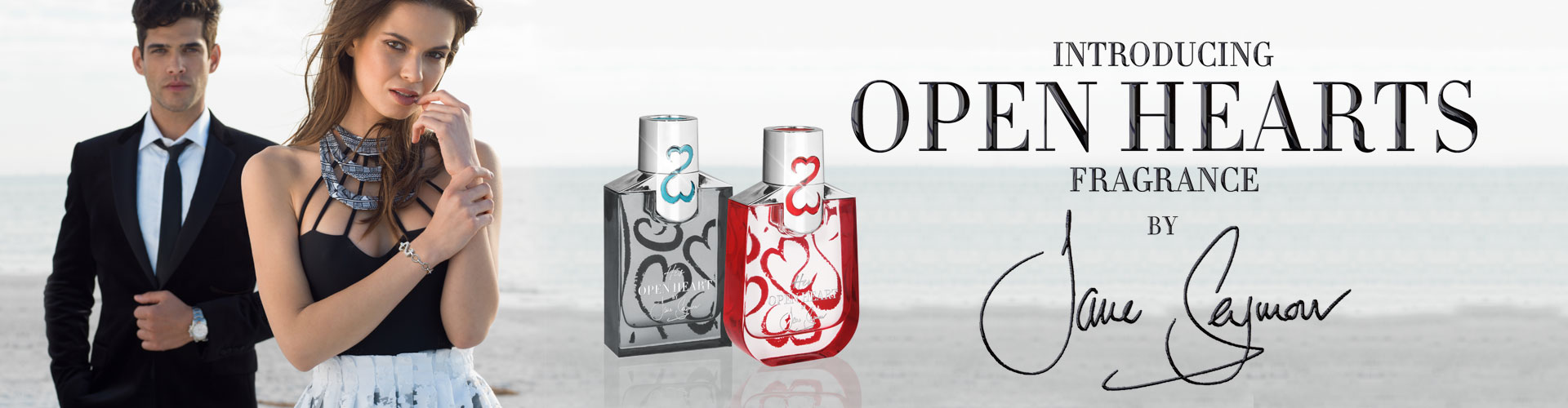 I'm very excited to introduce my new Open Hearts Fragrance Collection available on HSN, READ MORE ON PEOPLE.COM.
