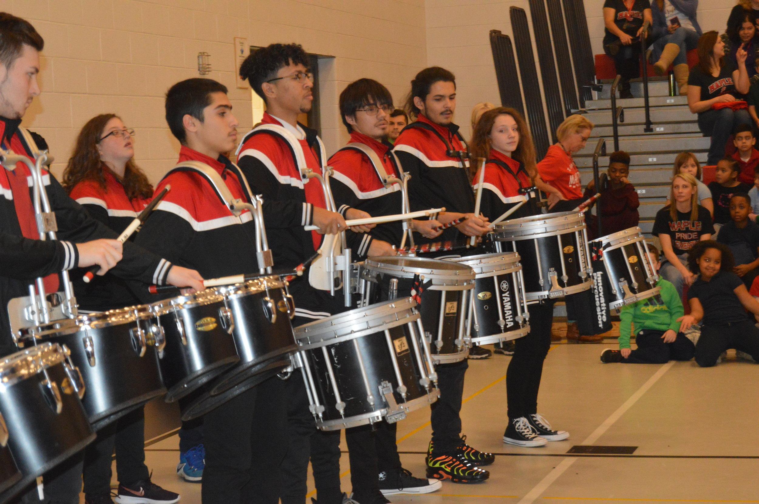 Drumline @ Maple '19 -