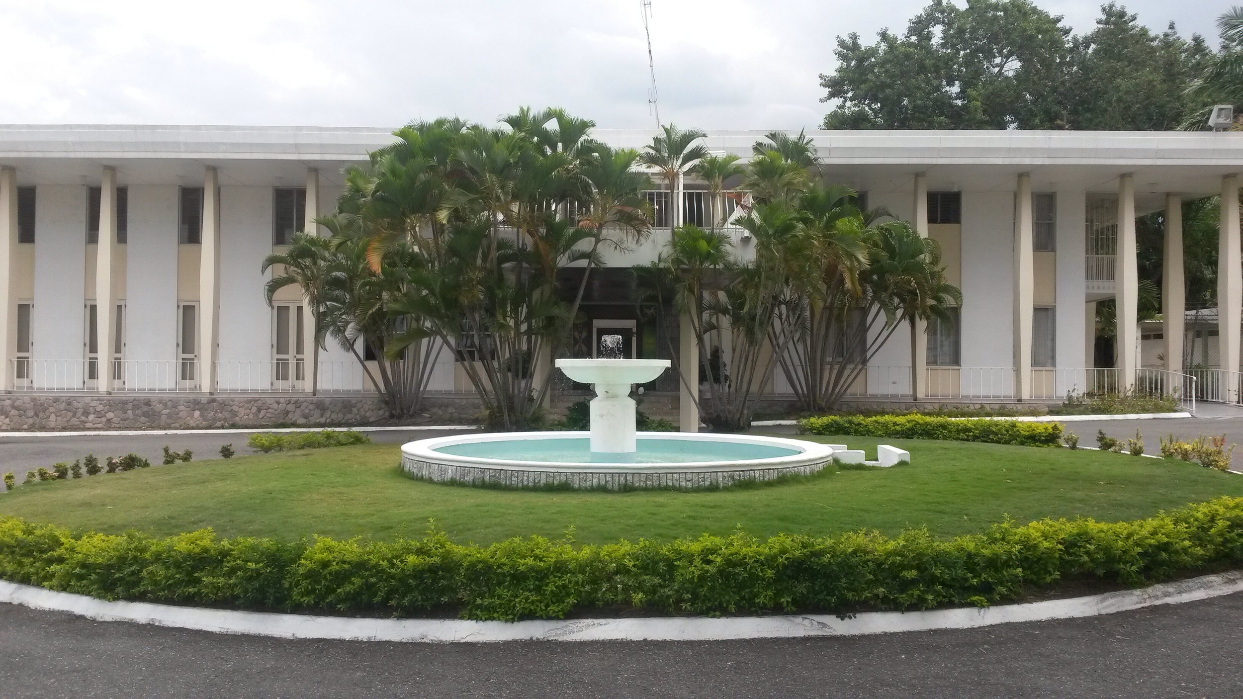 Jamaica House is home to the official residence and offices of Prime Minister Andrew Holness