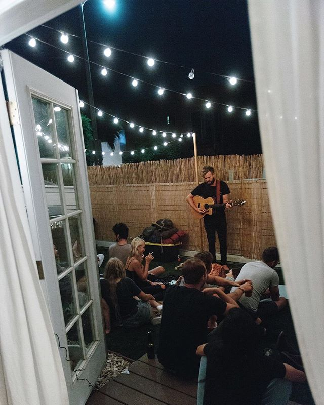 BBQs and backyard mini concerts on the way