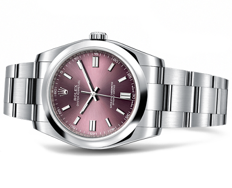 rolex watch datejust 36 mm gvin gol  burgendy face.png
