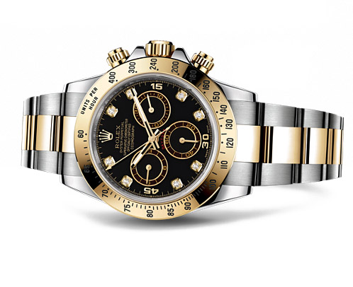 DAYTONA STEEL AND YELLOW WITH BLACK DIAL SET WITH DIAMONDS.jpg