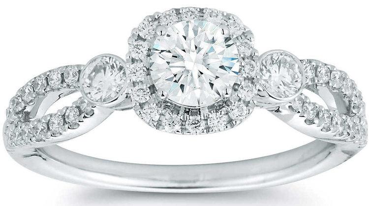 Round+Brilliant+0.90+ctw+VS2+Clarity,+I+Color+Diamond+14kt+White+Gold+Ring.jpg