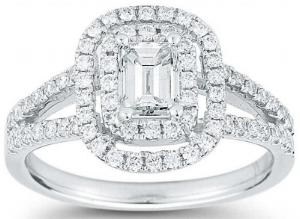 Emerald+Cut+&+Round+Brilliant+1.23+ctw+VS2+Clarity,+I+Color+Diamond+Platinum+Ring.jpg