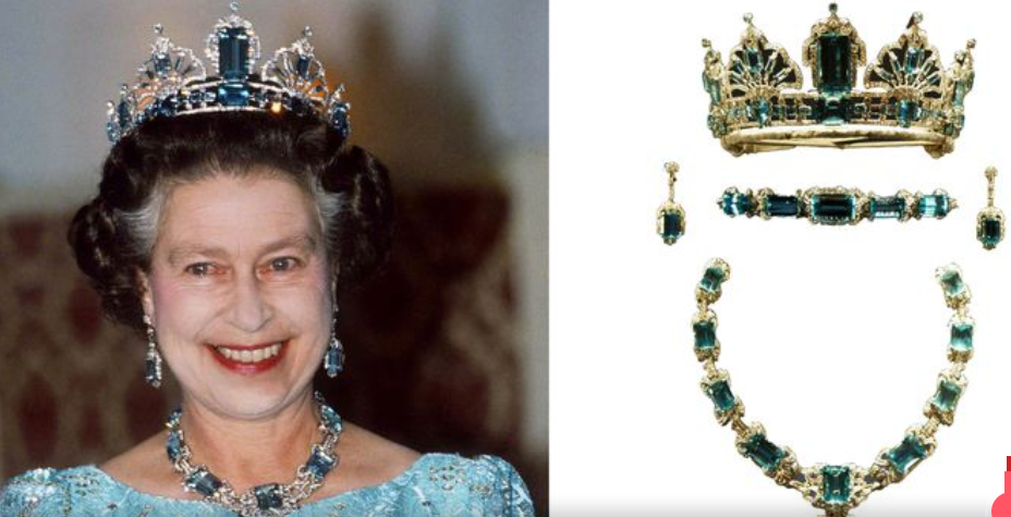 THE BRAZILIAN PARURE TIARA
