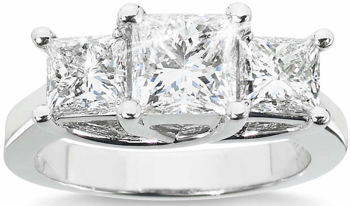 Princess+Cut+3.00+ctw+VS2+Clarity,+I+Color+Diamond+Platinum+Three+Stone+Ring+1.jpg
