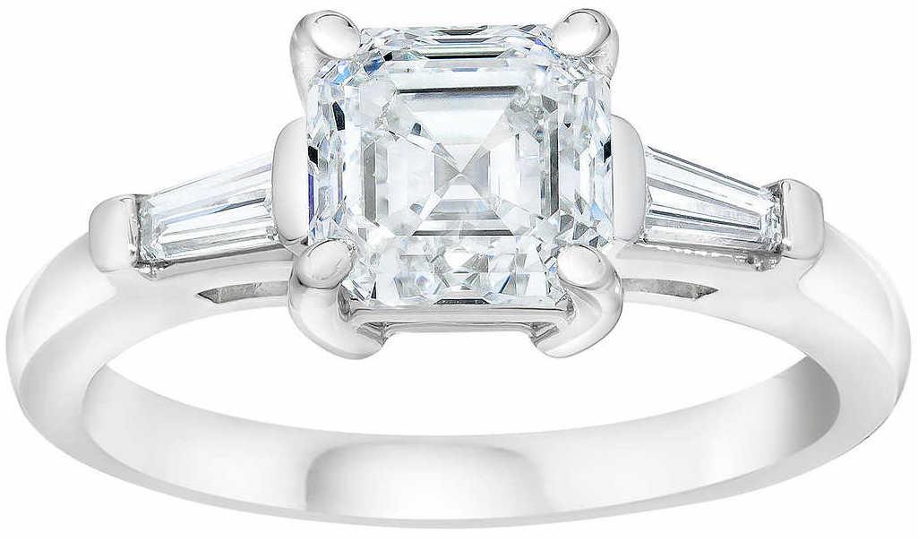 Square+Emerald+Cut+1.90+ctw+VS1+Clarity+E+Color+Diamond+Baguette+Platinum+Ring+.jpg
