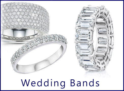 Orchids - Shop Our Wide Selection Of Diamond Wedding bands on Gold Or Platinum!