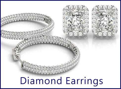 23 - Shop our breath taking diamond eaarings, stud earrings, hoop diamonds earrings, and so much more. If we don't have what you need we will make it for you free of charge of the design.