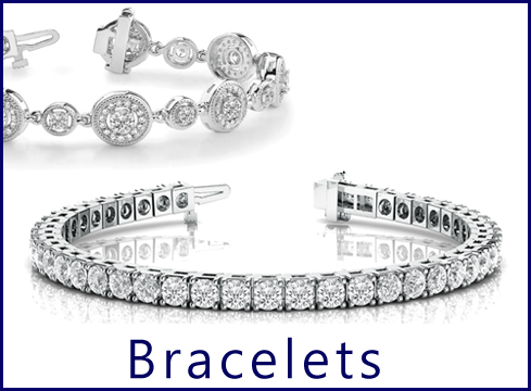 - Diamond Bracelets... We carry some of the biggest diamond bracelet in the market up to 55 carats. Shop our hand picked selection , remember if you don't see what you are looking for just contact us and we will make it for you best prices guaranteed.