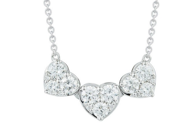 ROUND+BRILLIANT+1.00+CTW+VS2+CLARITY%2C+I+COLOR+DIAMOND+14KT+WHITE+GOLD+THREE+HEART+SHAPE+NECKLACE.jpg