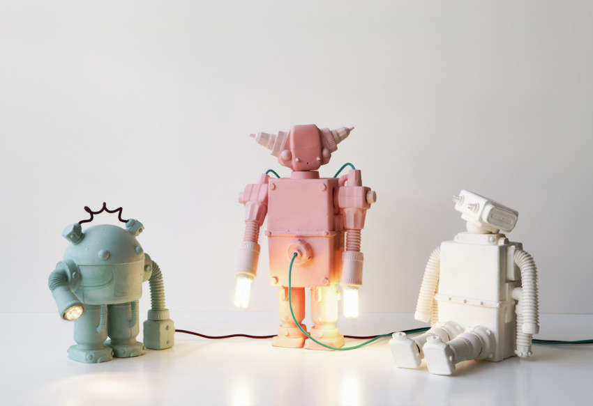Robot lights by Matias Limatainen