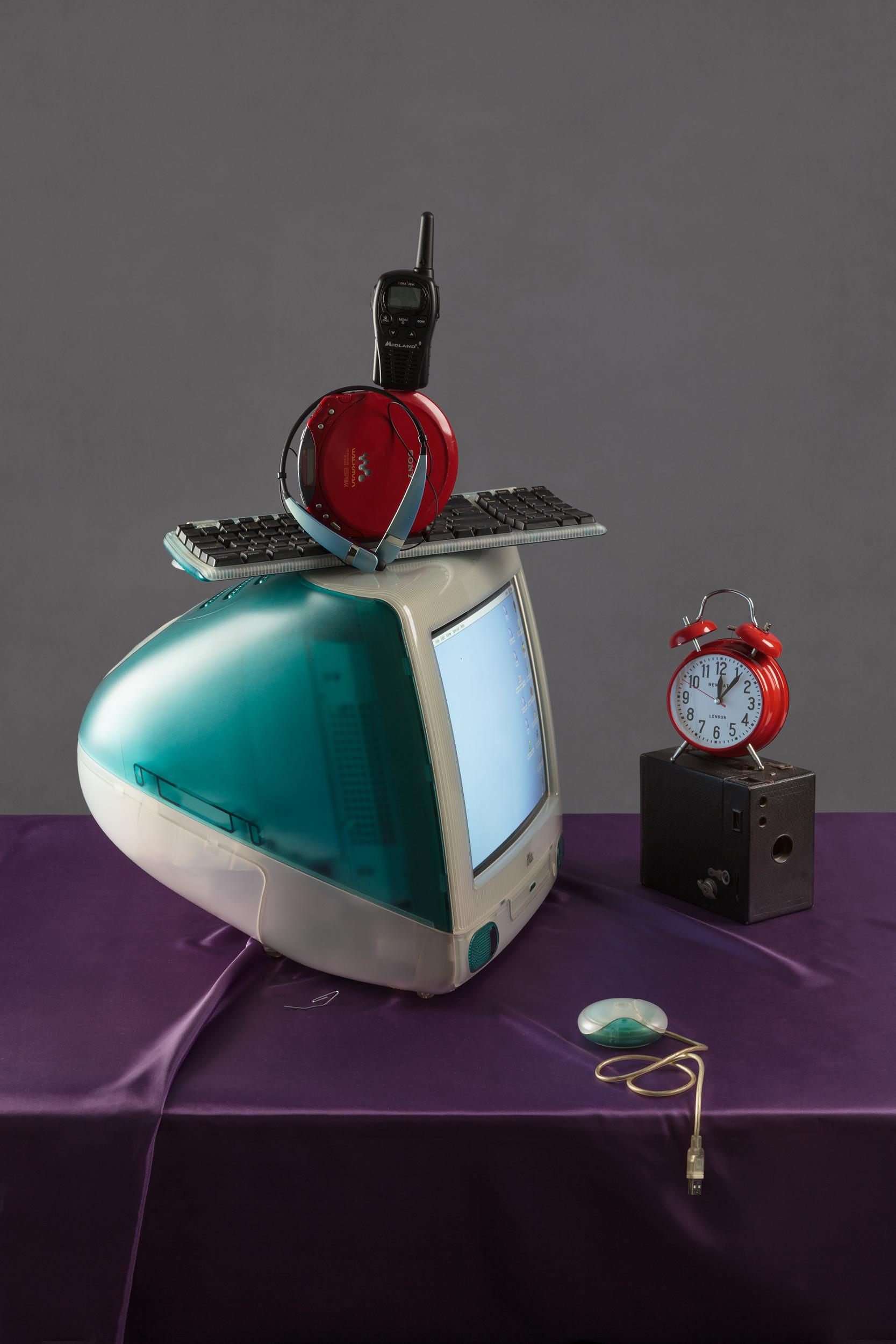 Tech Vanitas: Blue iMac