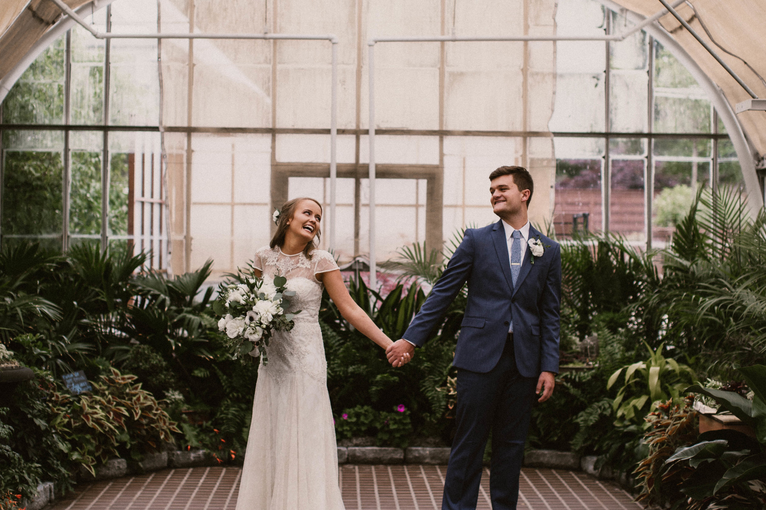 LINDSAY & CHRISTIAN - STYLED FRANKLIN PARK CONSERVATORY WEDDING