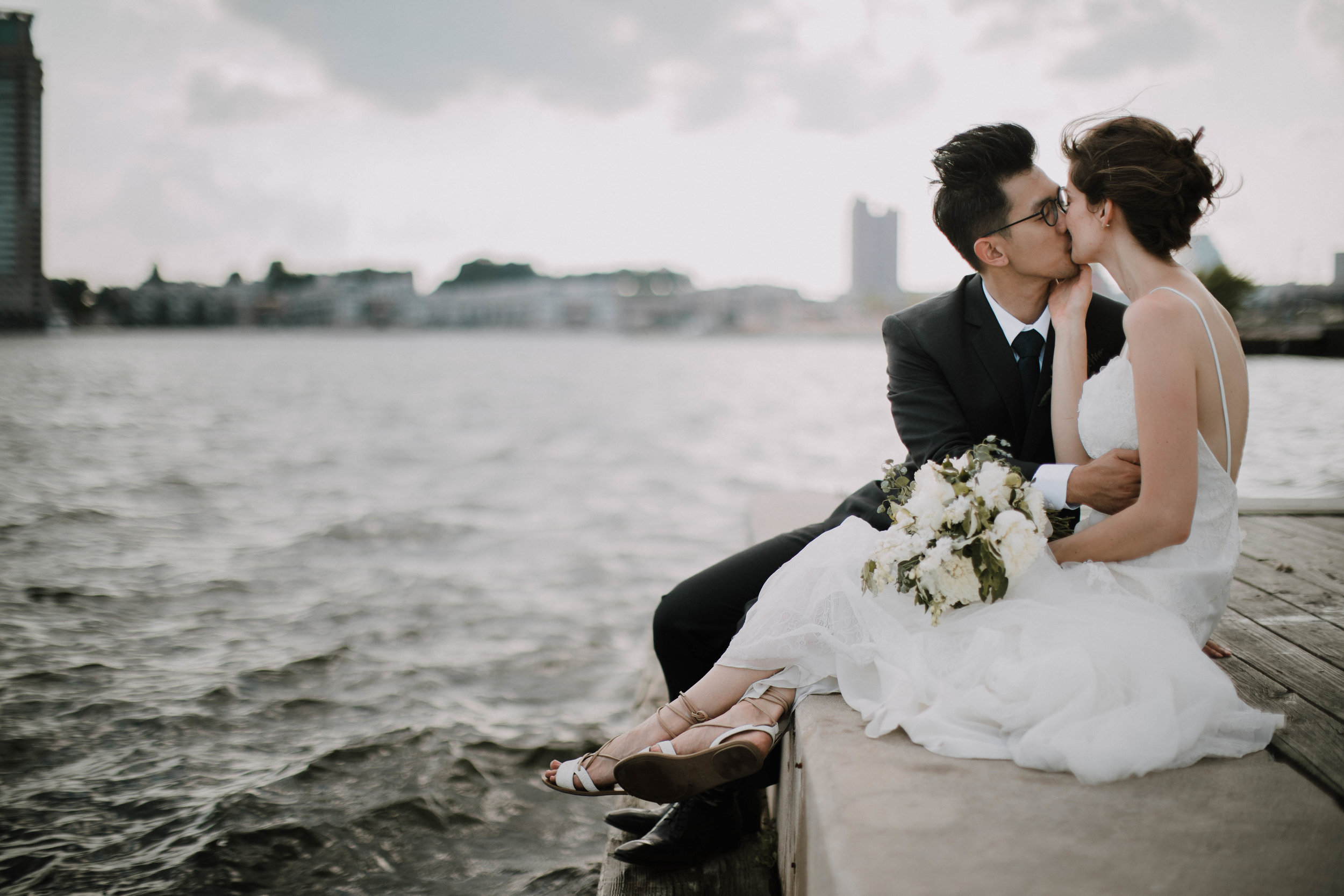 IVAN & JEN - WEDDING ON THE WATERS OF BALTIMORE