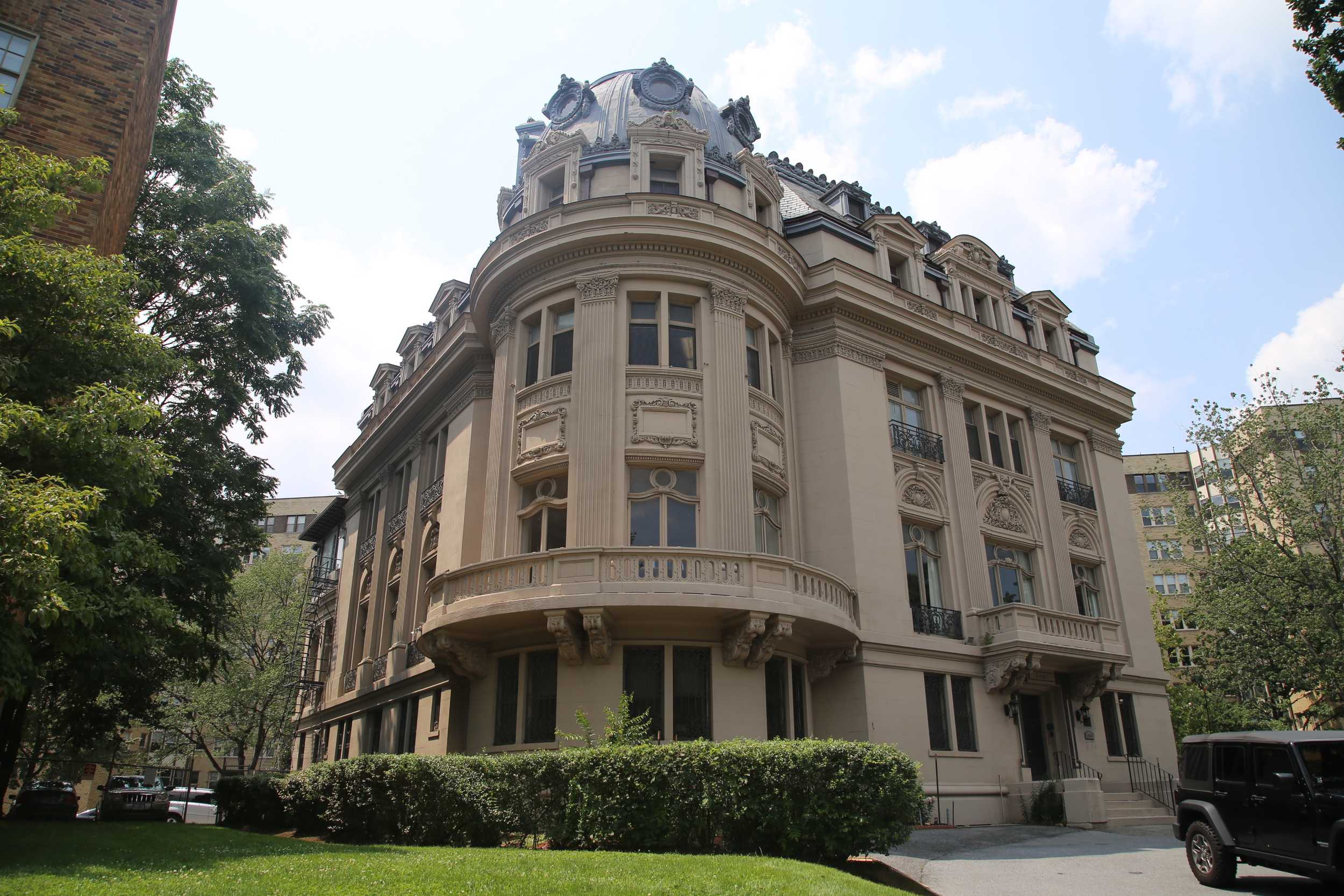 Vichy France Embassy - 16th St & Kalorama Rd., Meridian Hill, Washington, D.C. (today the Council for Professional Recognition)