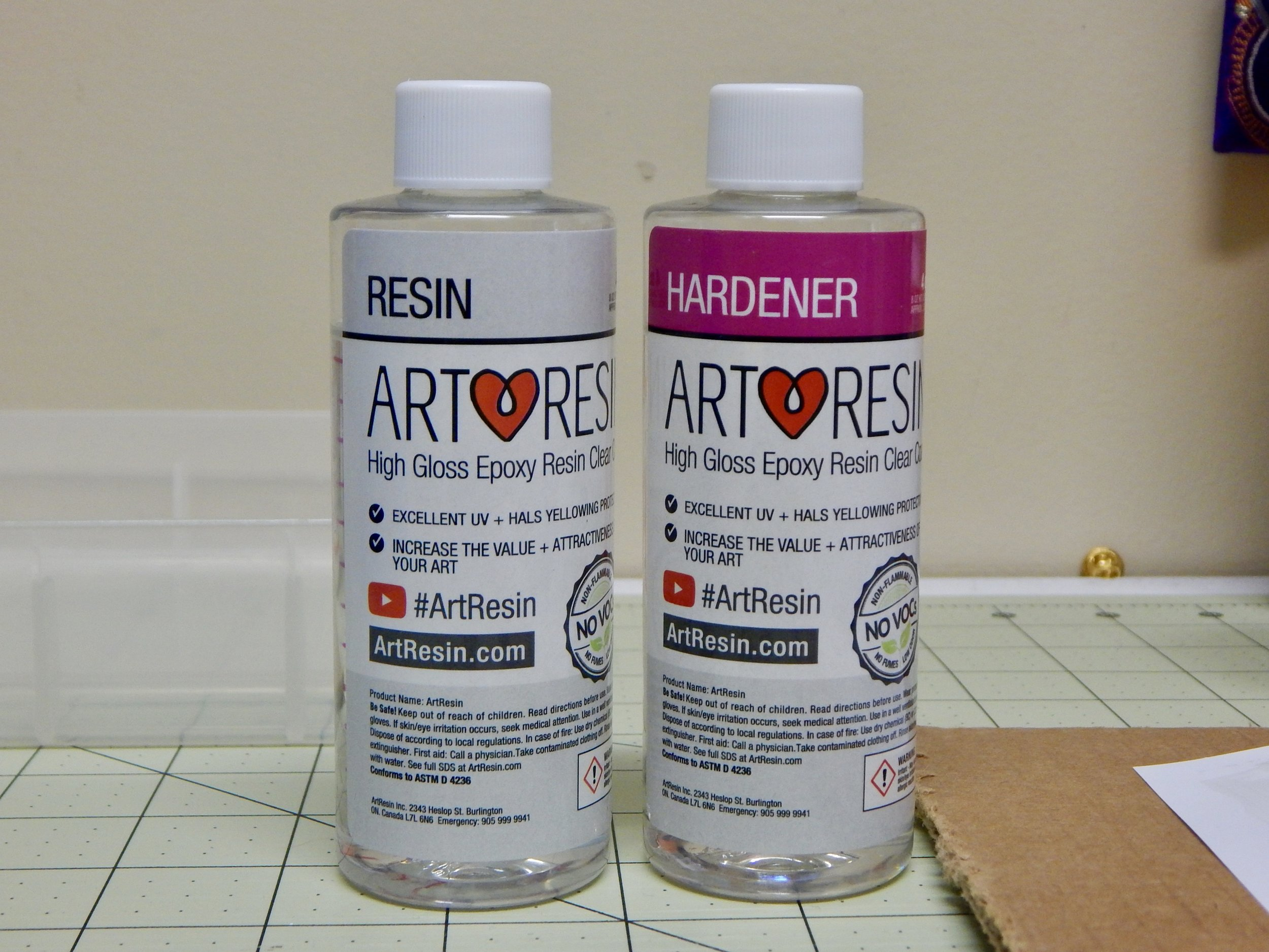 I got Art Resin from Amazon. Ice Resin is also a good alternative.