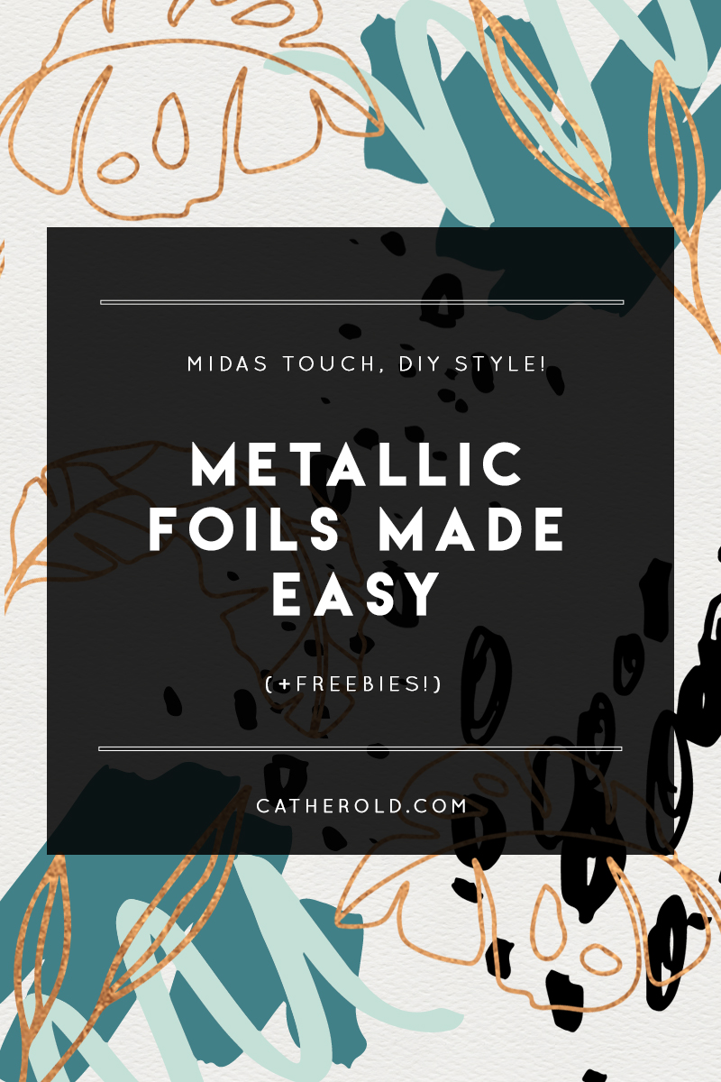 How To Make Metallic Foil Textures In Photoshop Plus Freebies