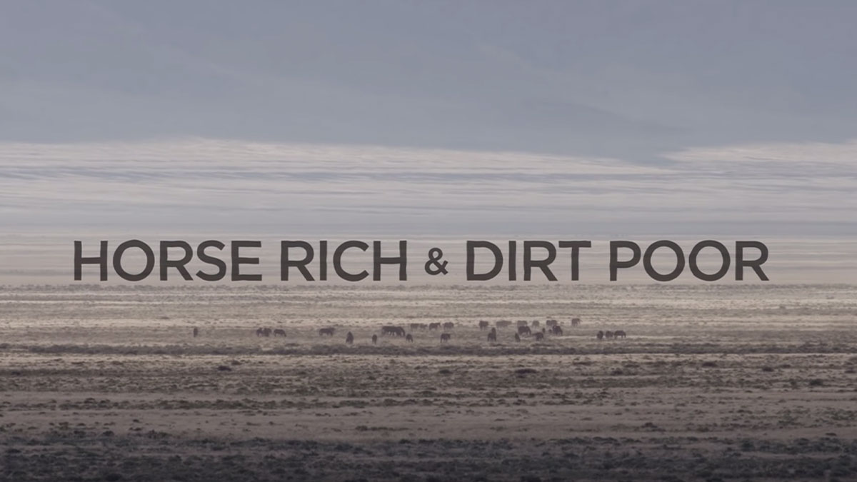 Wildlife Society- Horse Rich Dirt Poor
