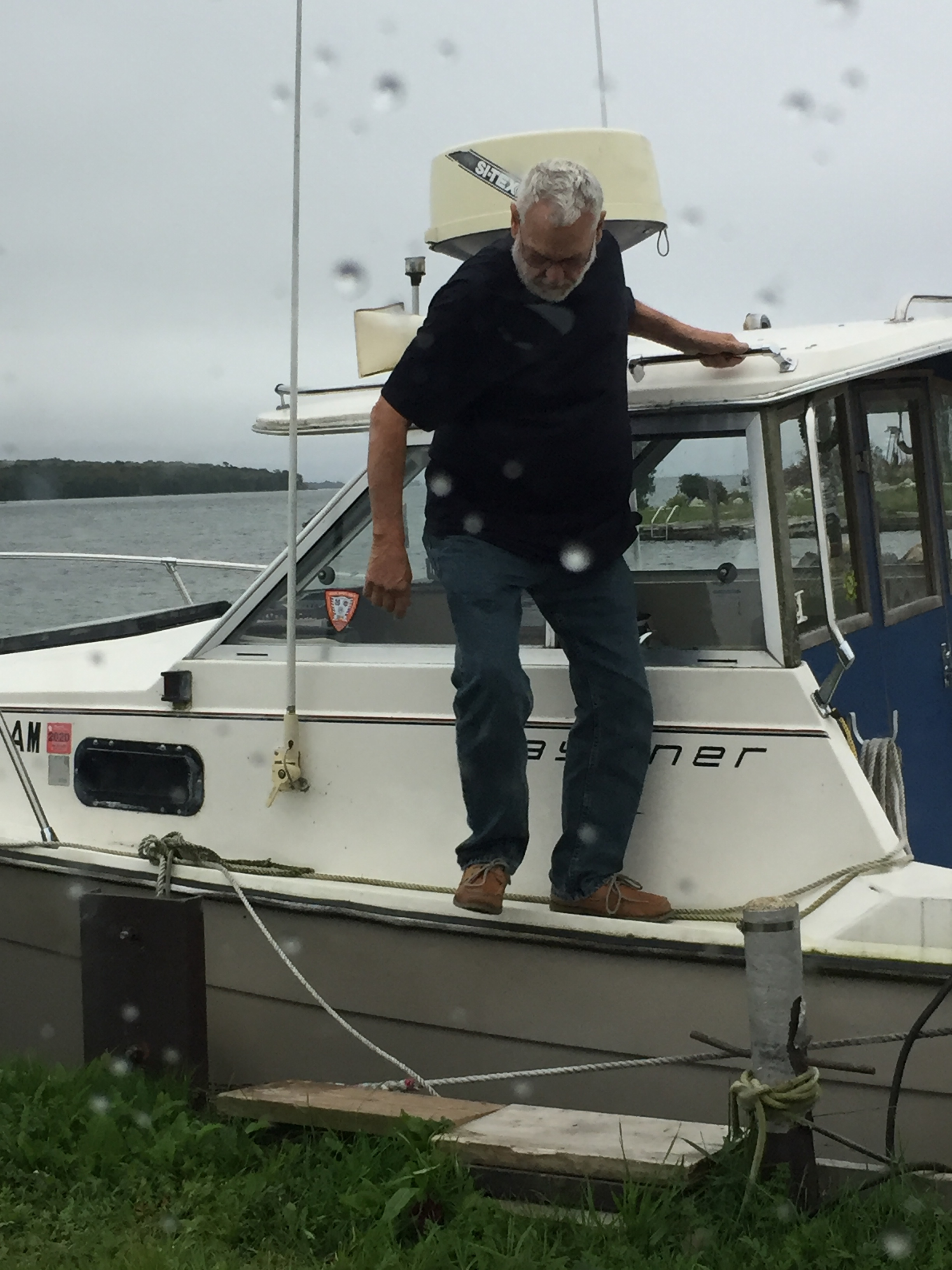 There are things to do. Boats to check.