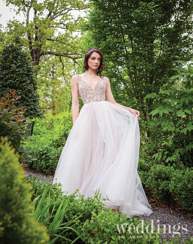 """- Weddings in Arkansas magazine brought me in to style their Spring / Summer 2019 bridal editorial. I had the """"She Said Yes"""" experience at seven shops without any parameters! It was the most fun.Photographer: Rett PeekPhoto Stylist: Hope JohnstoneModel: Arielle Hair & Make-Up: Kimberly McGuire"""