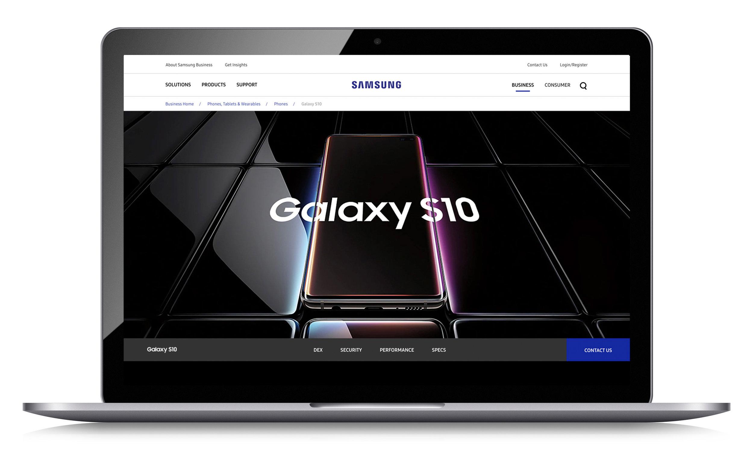 Samsung — Yim Cheng Portfolio
