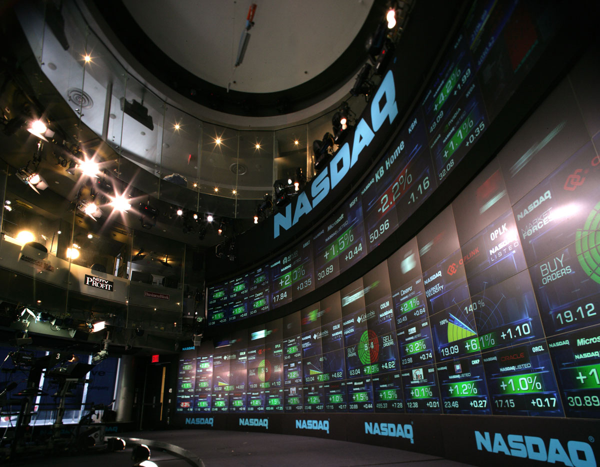 Nasdaq MarketSite — SCOTT PETILL