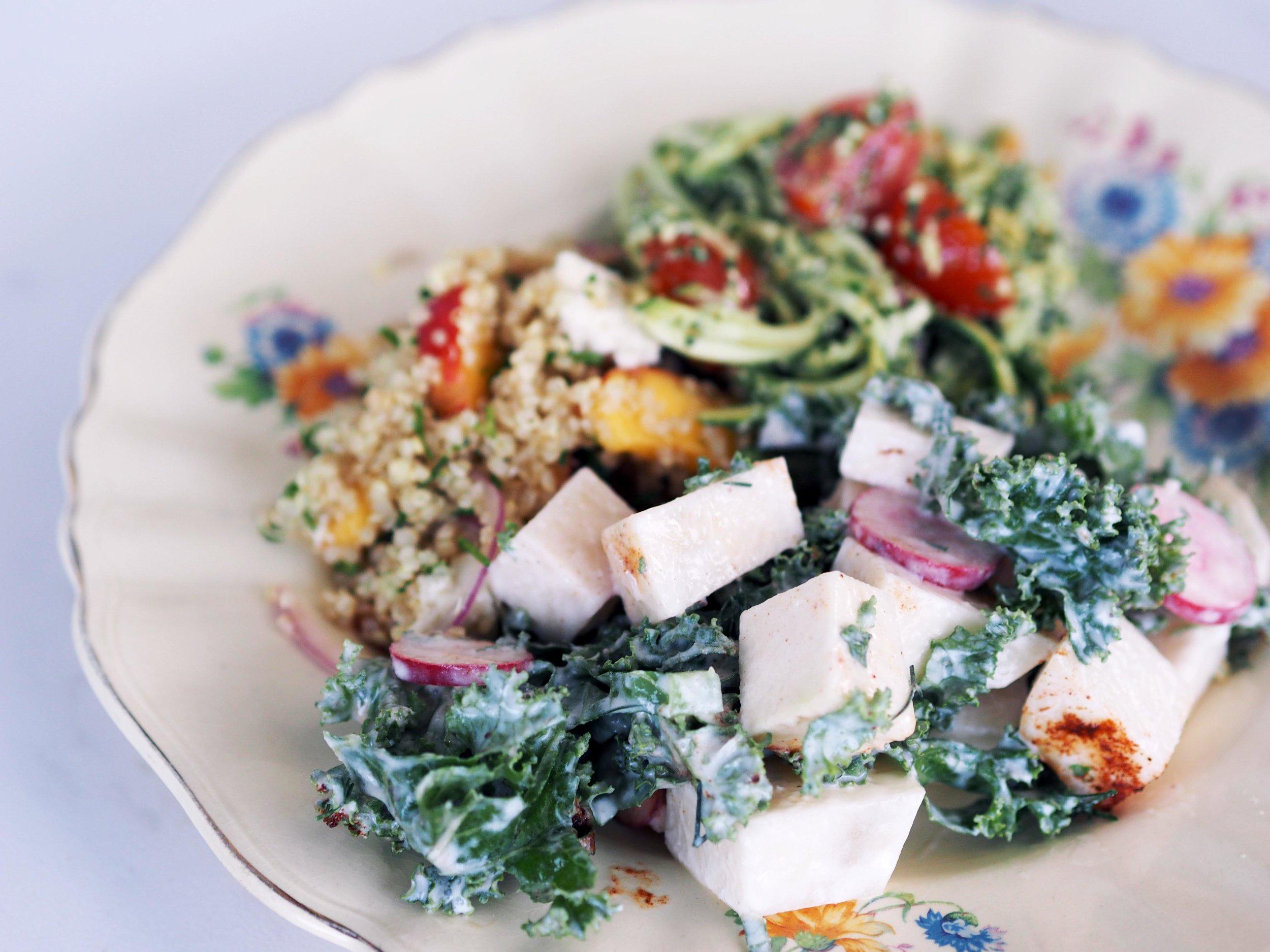 Enjoy your Christmas salads!
