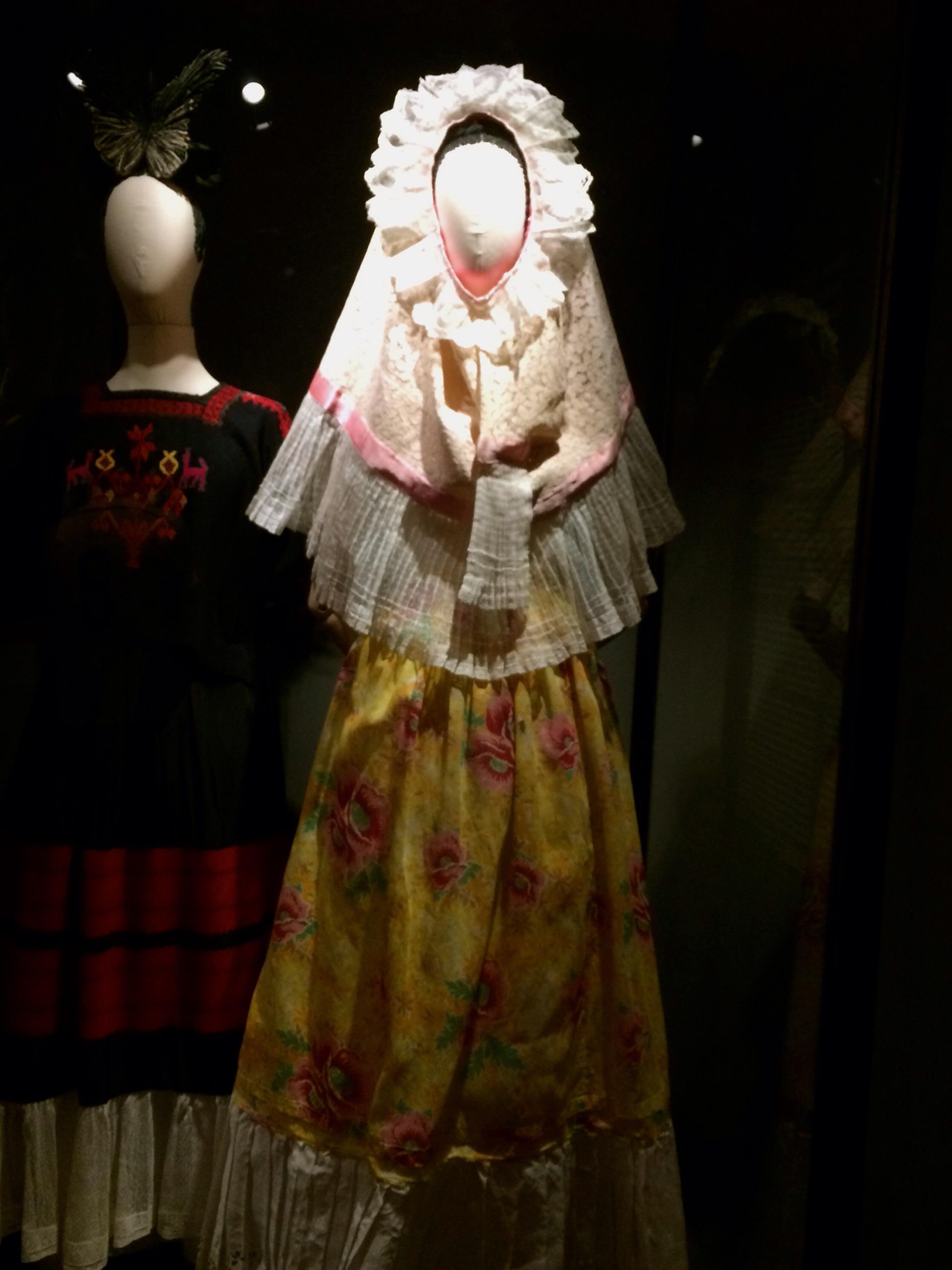 El vestido que más me gustó. El vestido de Tehuana.