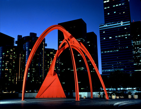Calder also did some monumental sculptures like this one in L.A!