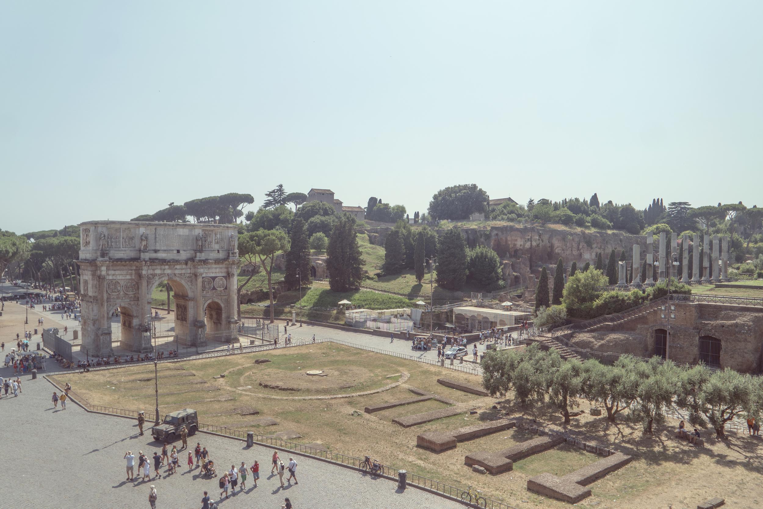 El Foro Romano.
