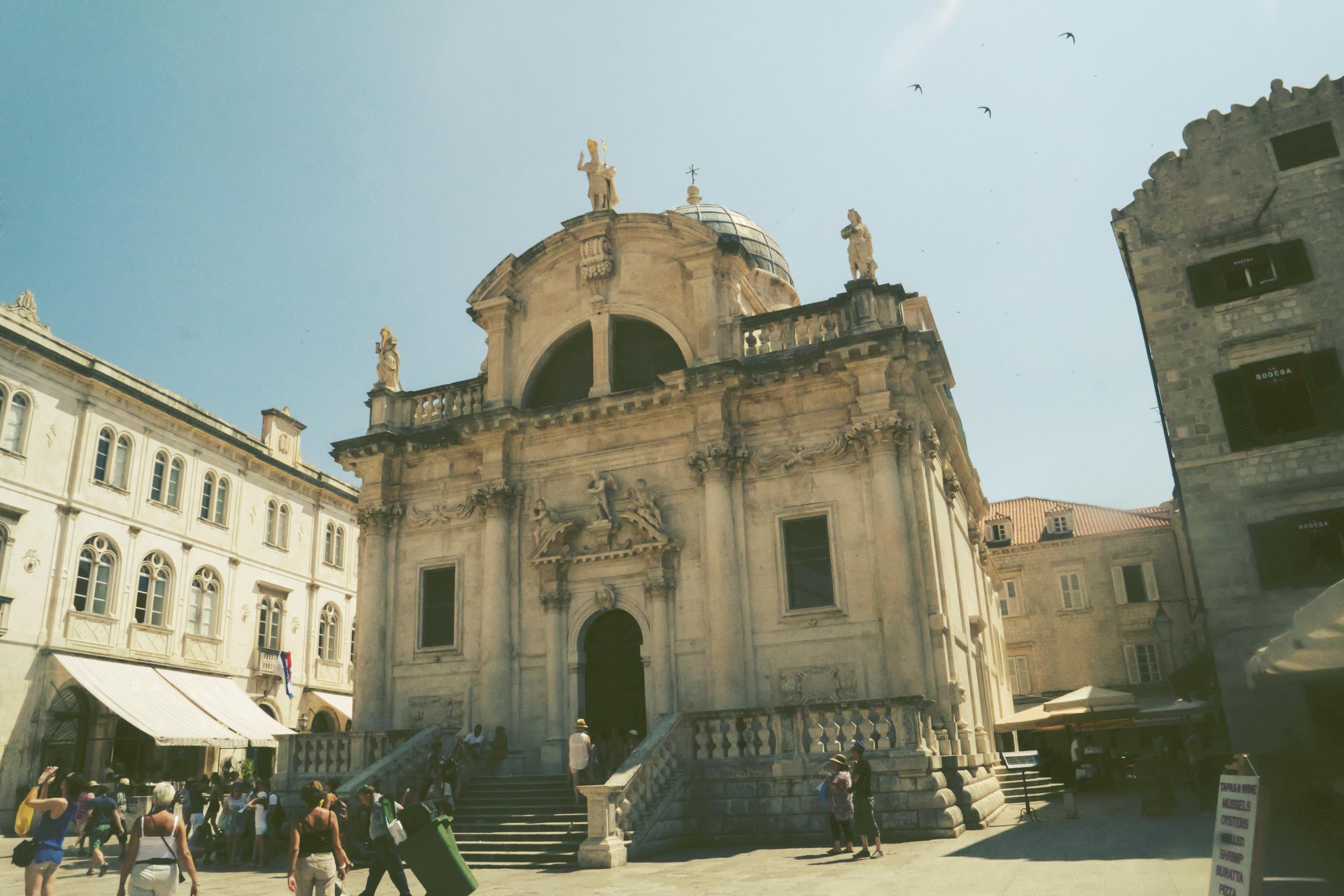 La iglesia de San Blasius.