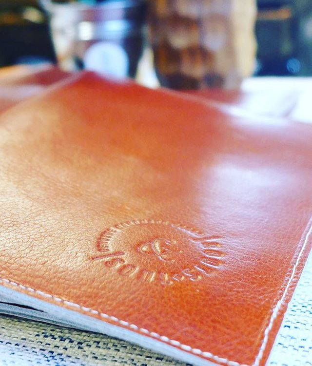 Classic, beautiful and handmade!  Our leather notebook or moleskin cover. Take it with you for a lifetime, replacing the notebook every time you finish. 📚  Made by Colombian local talent!